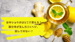 レモンとしょうが